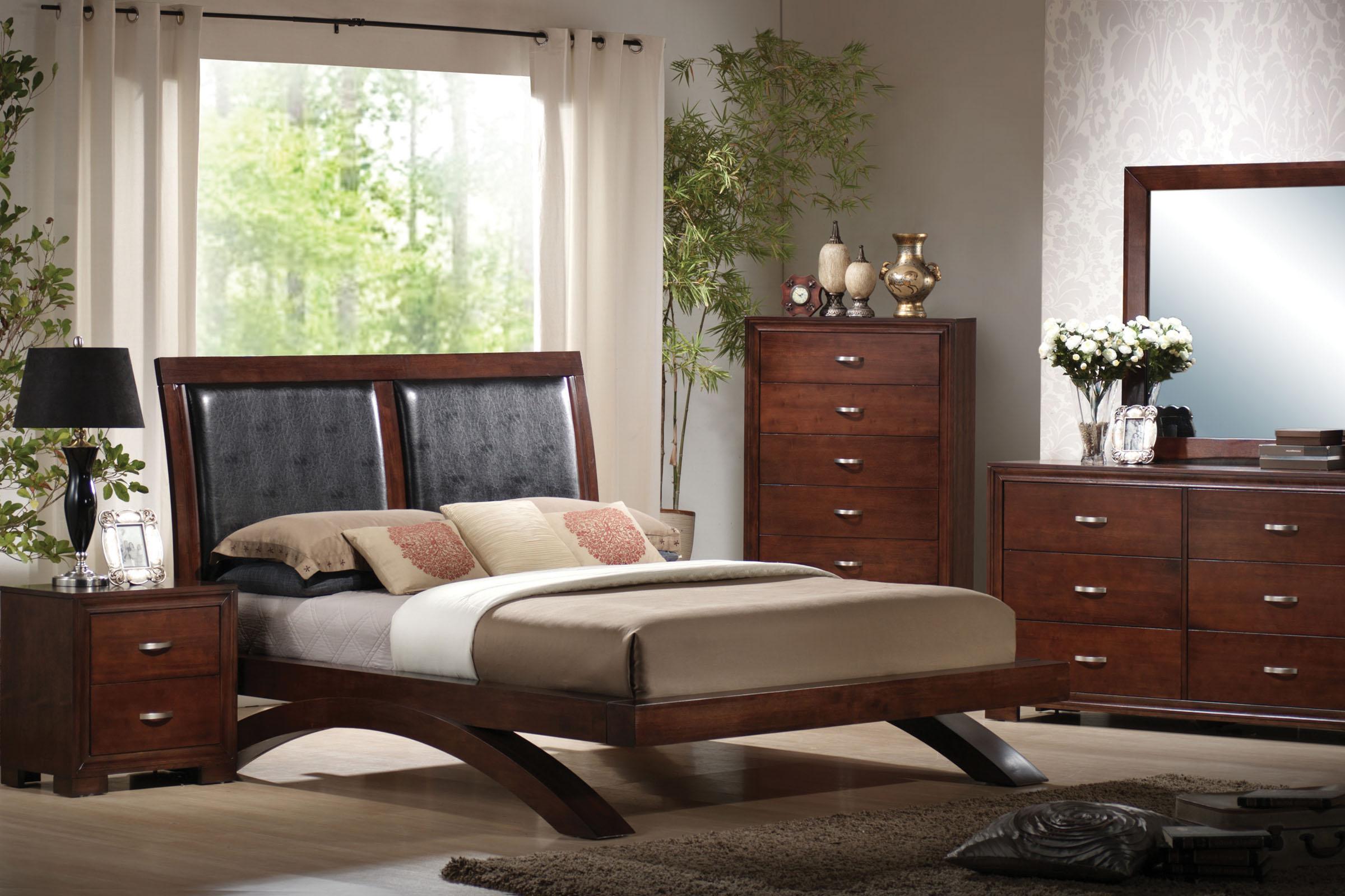 Raven Dresser Mirror Bed Queen Bedroom Bedroom Sets