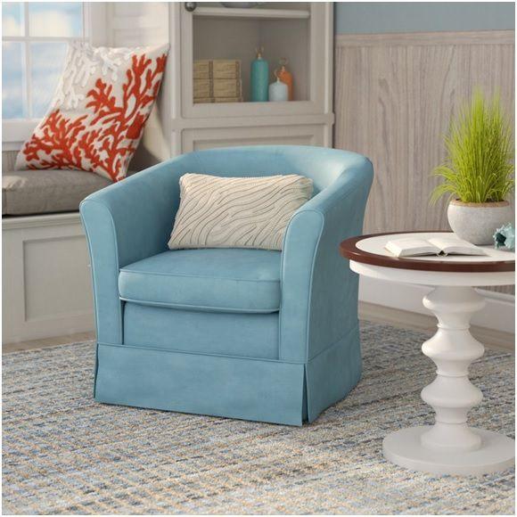 Best 99 Coastal Blue Accent Chairs Under 200 Swivel Barrel 640 x 480