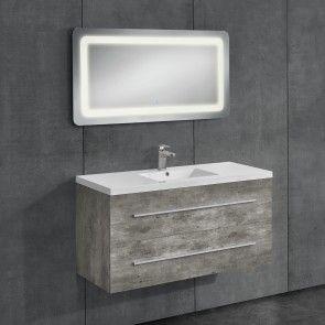 neu.haus] Mobile da bagno con lavabo e specchio 428,50 ...