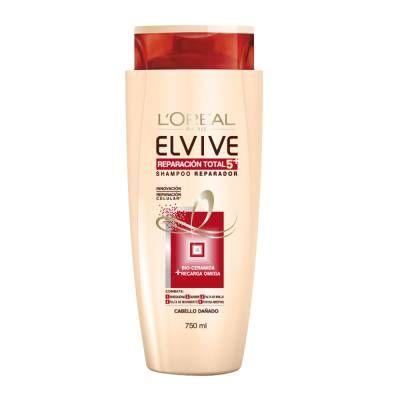 Elvive Reparacion Total 5 Shampoo Combate Puntas Abiertas