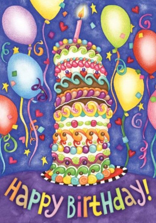 BIRTHDAY CLIP ART Giant birthday cake Happy birthday and Birthdays