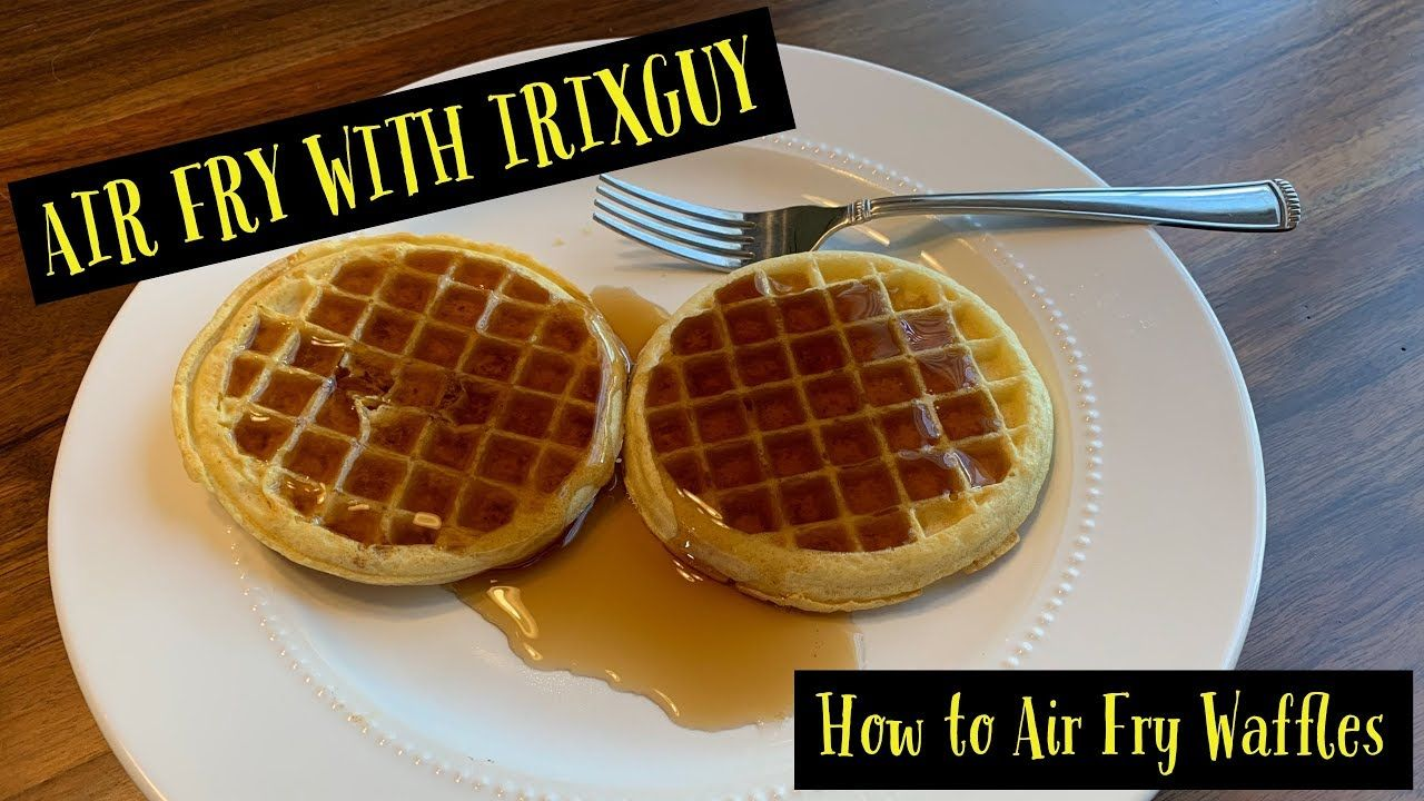how long to cook frozen waffle fries in air fryer