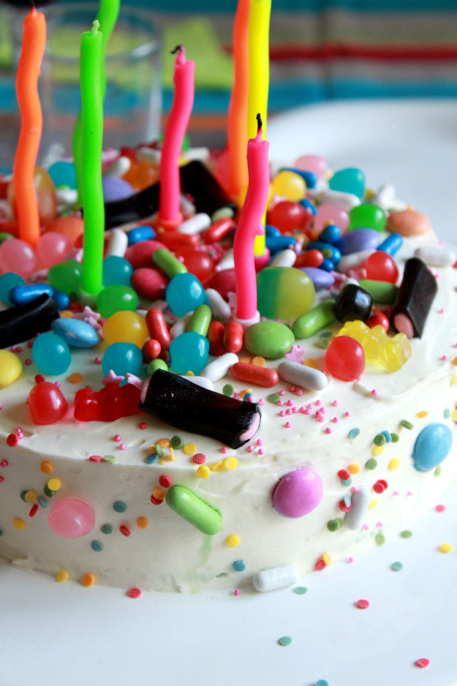 layer cake pour anniversaire