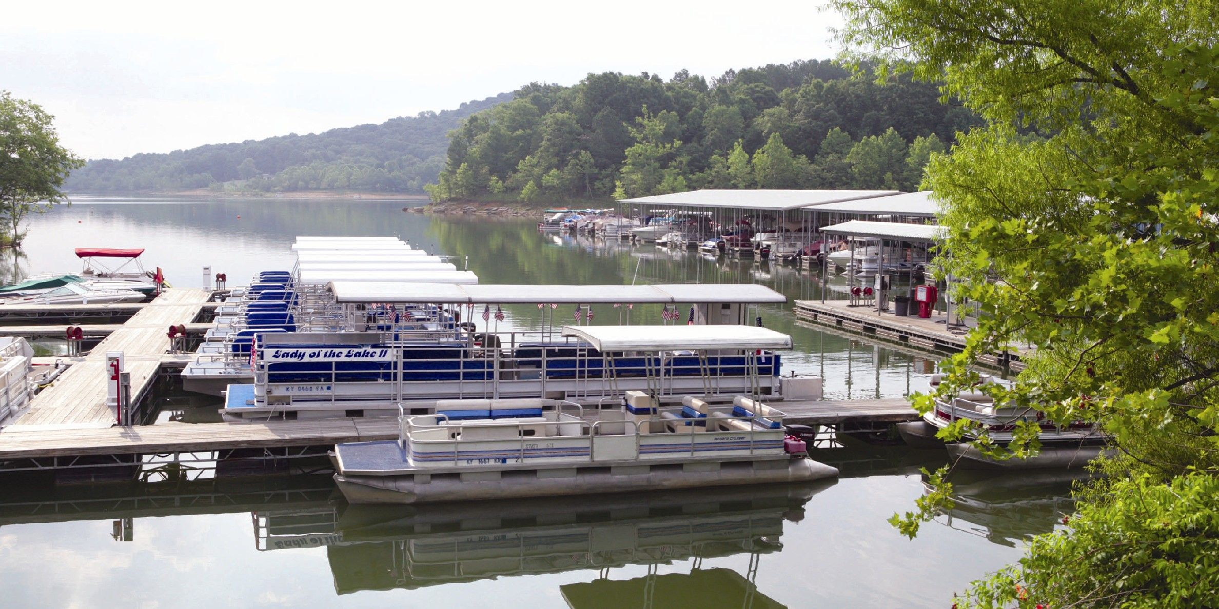 Lady Of The Lake Boat Tour At Rough River Dam State Resort