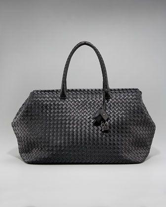 Brick Woven Top-Handle Bag by Bottega Veneta at Neiman Marcus.