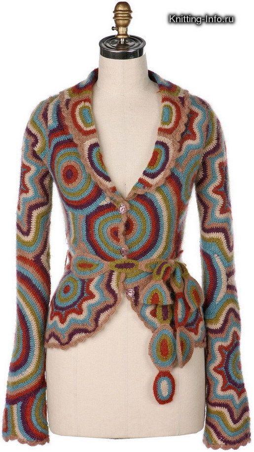 ergahandmade: Crochet Cardigan