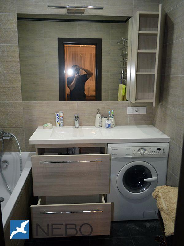 мебель для ванной комнаты фото и дизайн в минске ванная