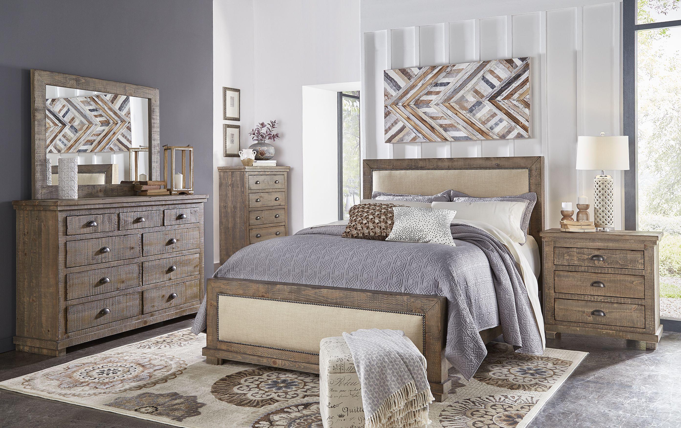 P635 Willow Upholstered Headboard Upholstered bedroom