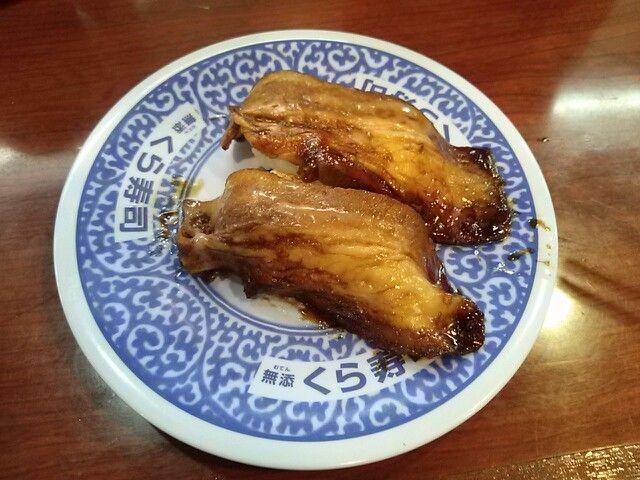 -Kurazushi- Roasted pork fillet $ 1.05 http://alike.jp/restaurant/target_top/593872/