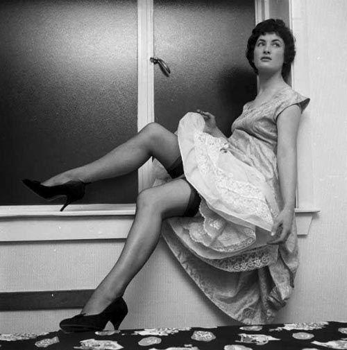 SilviageArt: Sukienki z lat 50'