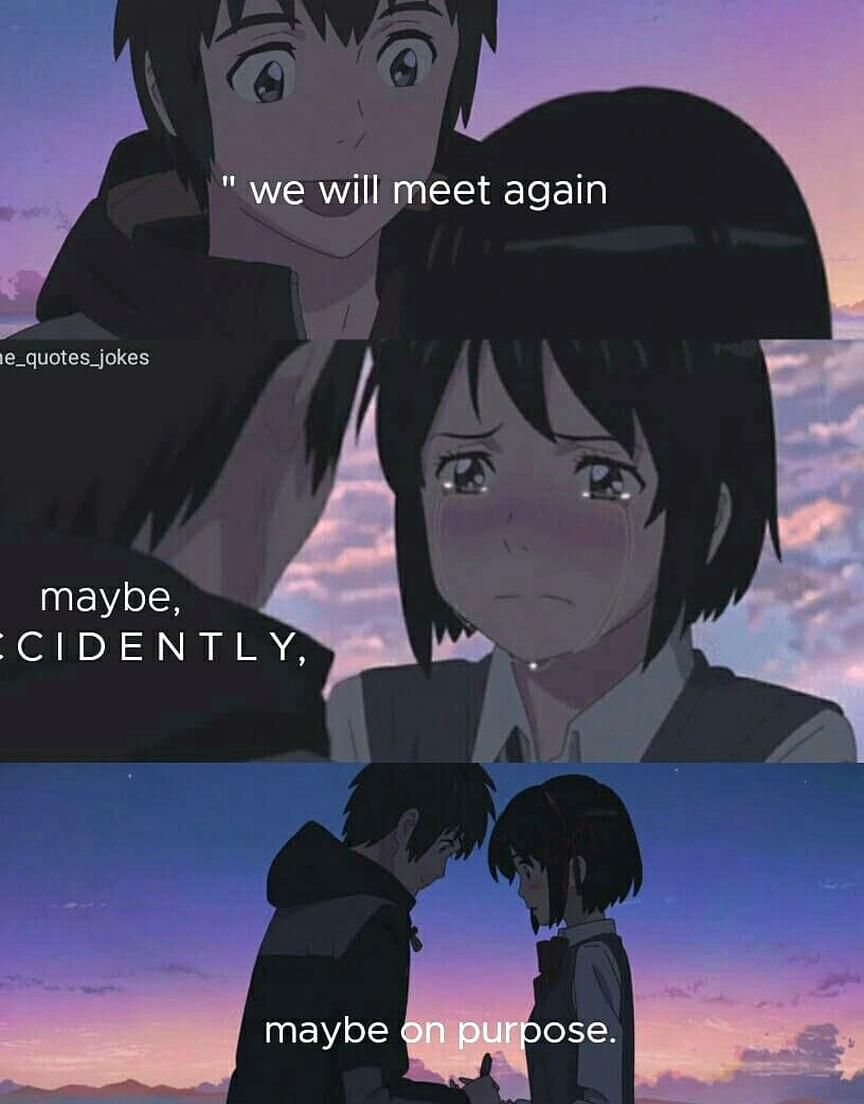 Kimi no na WA Your name anime quotes animequotes in 2020 ...