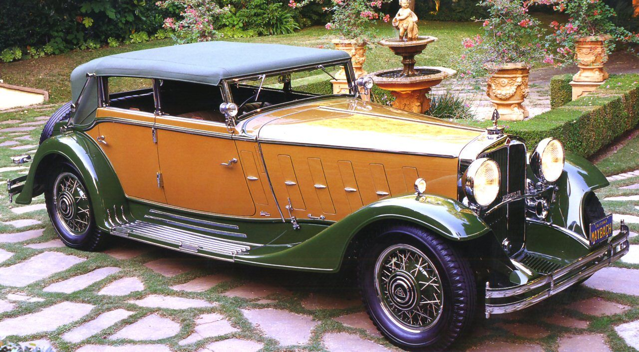 1932MaybachZeppelin DS 8 Sport Cabriolet 4Door Body