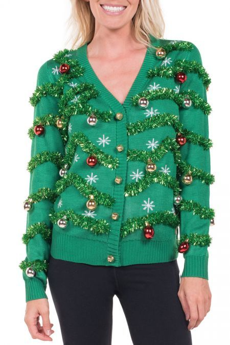 Ugly Christmas Sweaters Pinterest.Men S Gaudy Garland Ugly Christmas Sweater Galaxy