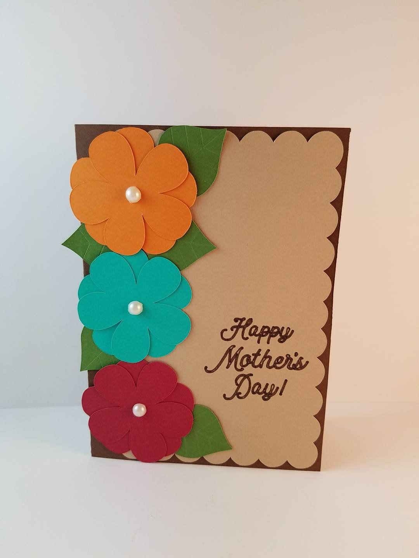 Mothers Day Card Happy Mothers Day Mothers Day Gift Blank