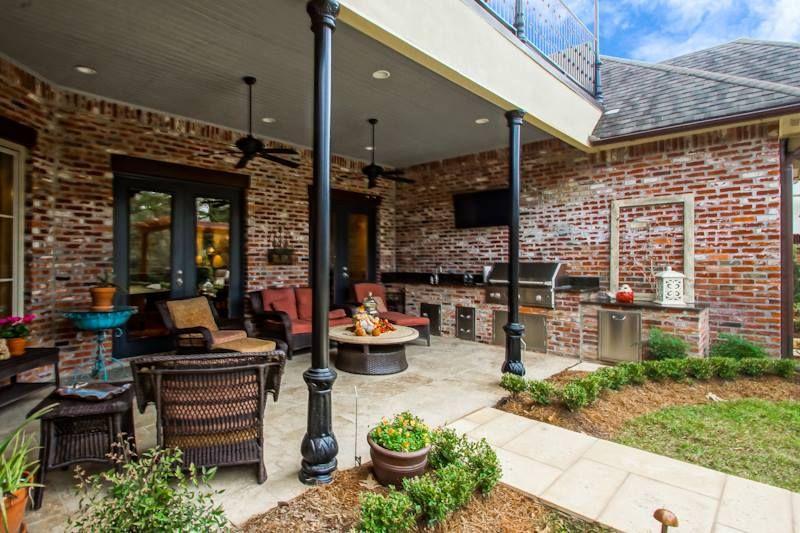 All Star Land Llc Custom Home Baton Rouge La Www Allstarlandllc Com Outdoor Decor Patio Custom Homes