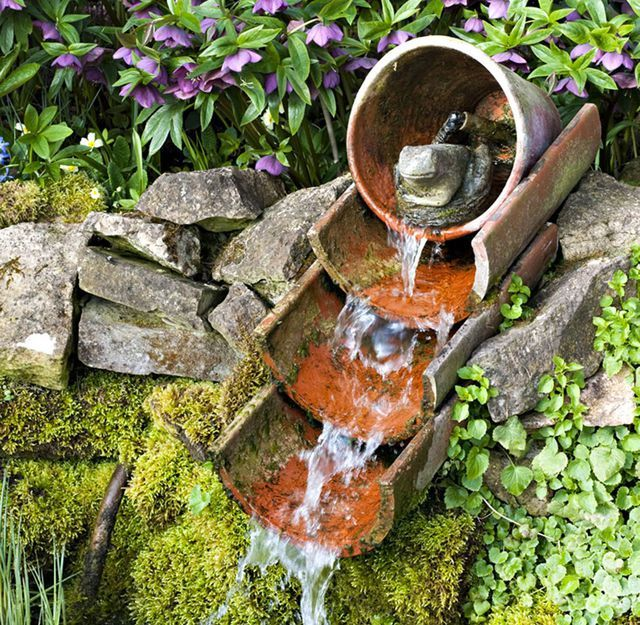 id e r cup et diy pour un jardin d co water garden and ponds pinterest jardins d co. Black Bedroom Furniture Sets. Home Design Ideas