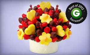 One Box Of Chocolate Dipped Fruit Or 20 For 40 Worth Of Fruit Bouquets From Edible Arrangements Chocolate Covered Fruit Chocolate Dipped Fruit Edible Arrangements