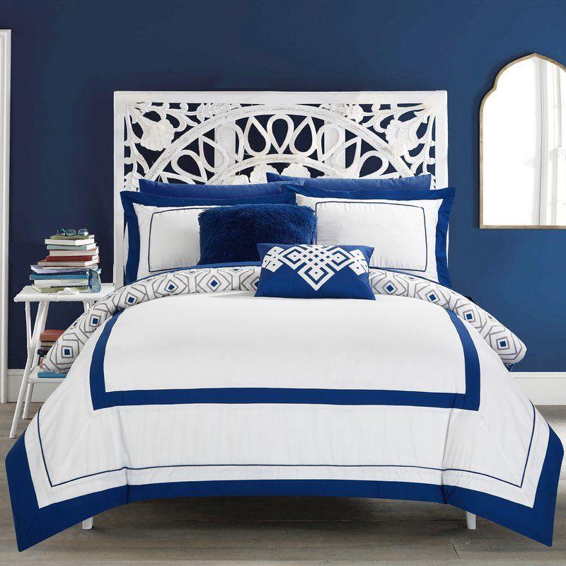 Talamantes 9 Piece Full Reversible Comforter Set Comforter Sets Full Comforter Sets Twin Comforter Sets