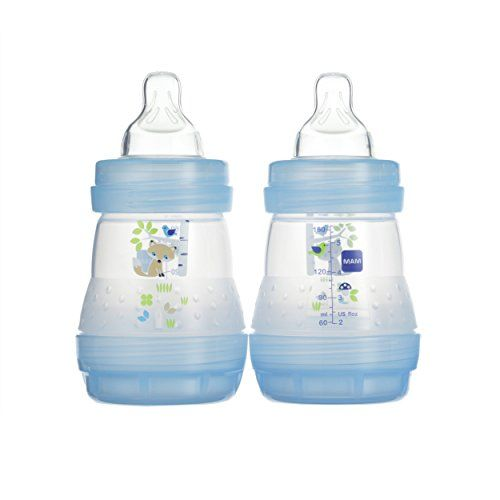 5 Ounces Boy 1-Count MAM Anti-Colic Bottle