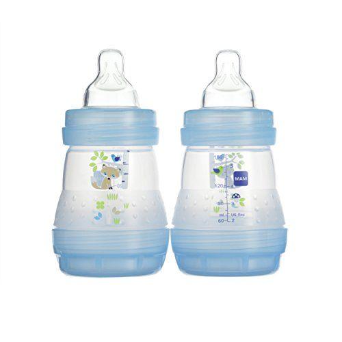 Boy MAM Anti-Colic Bottle 1-Count 5 Ounces