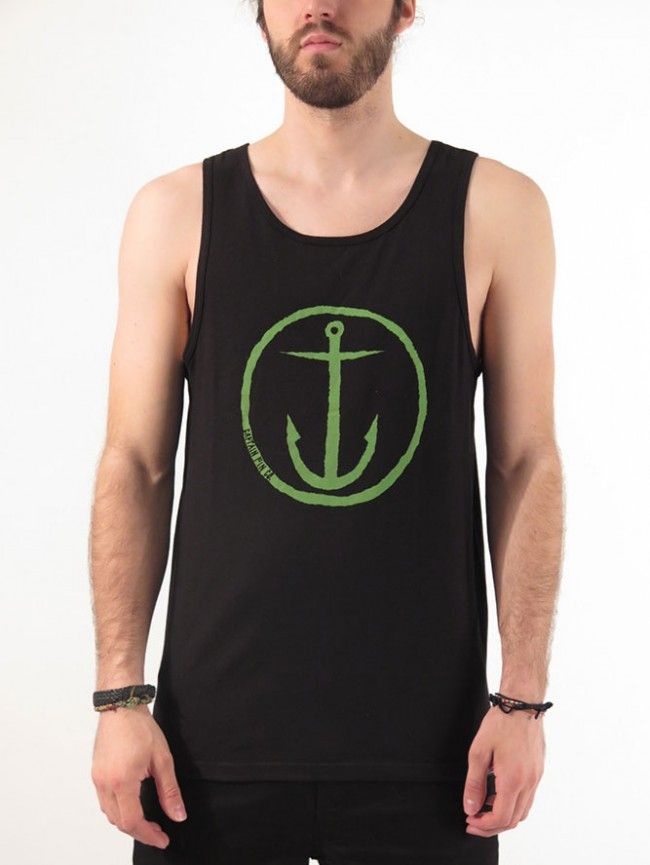 41d2a06c35828e Original Anchor Tank Top for men by Captain Fin