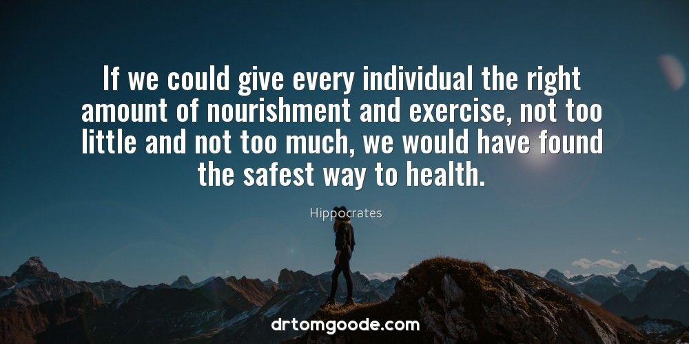 nourishment exercise health Exercise, Health, Nourishment