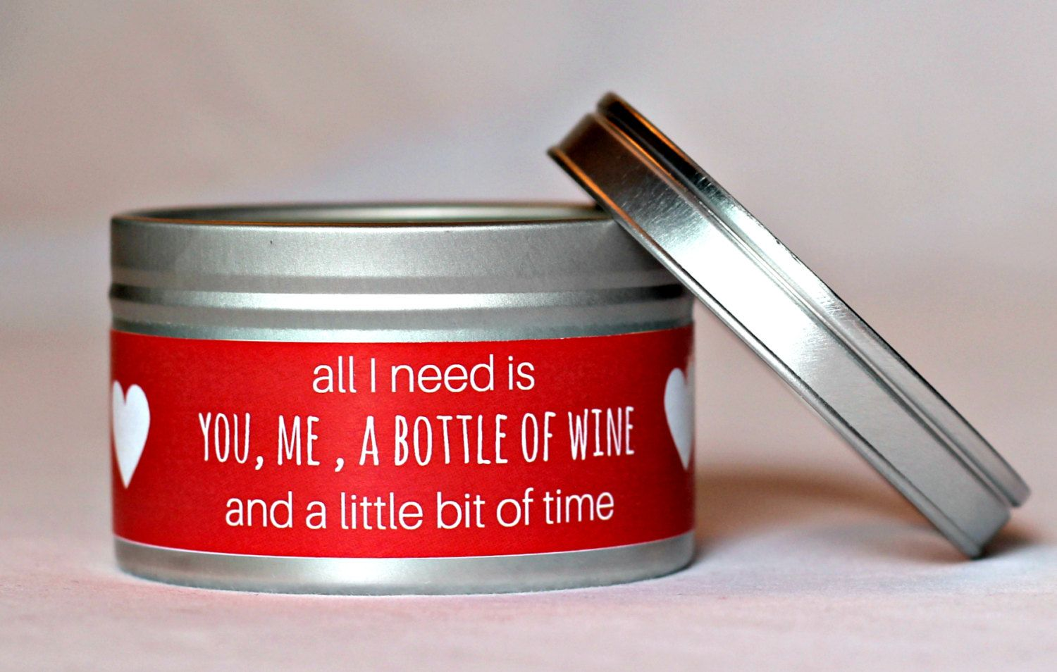 Funny Valentines Day Gift for Her Candle All I Need is You ...