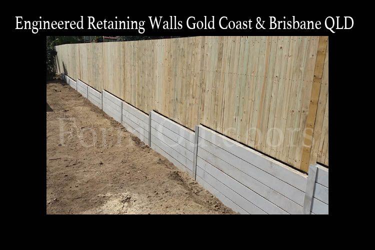 Engineered Concrete Sleeper Retaining Walls Brisbane Gold Coast Qld Au Retaining Wall Concrete Sleeper Retaining Walls Retaining Wall Design