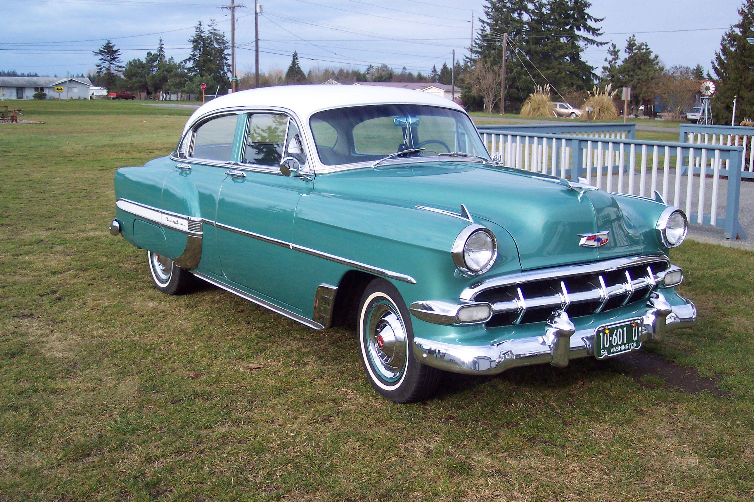1954 bel air yes please! Chevy bel air, Chevrolet bel