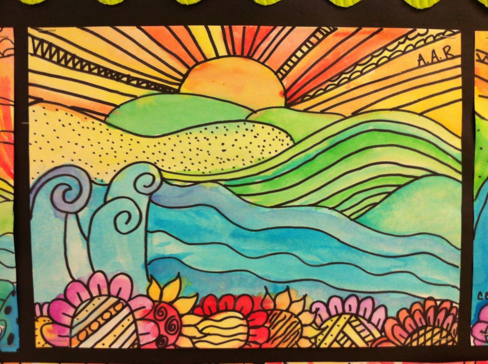 5th Grade Elementary Art