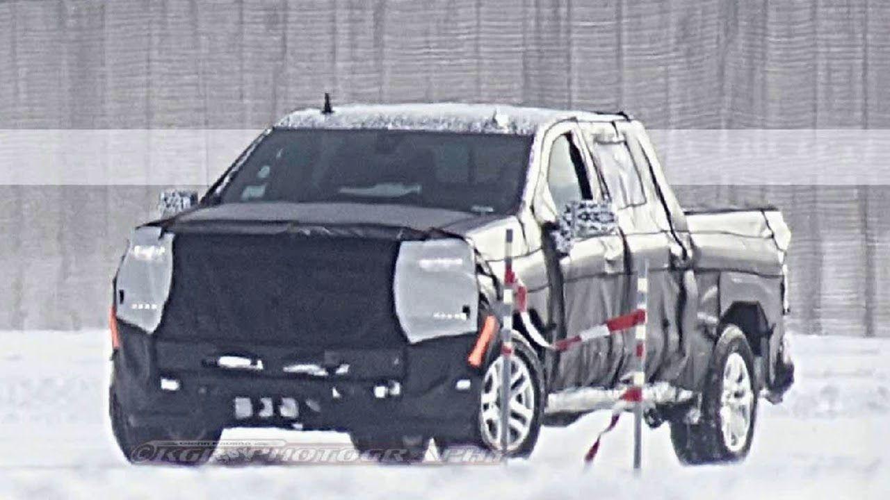 Spy Silverado 1500 Diesel Interior