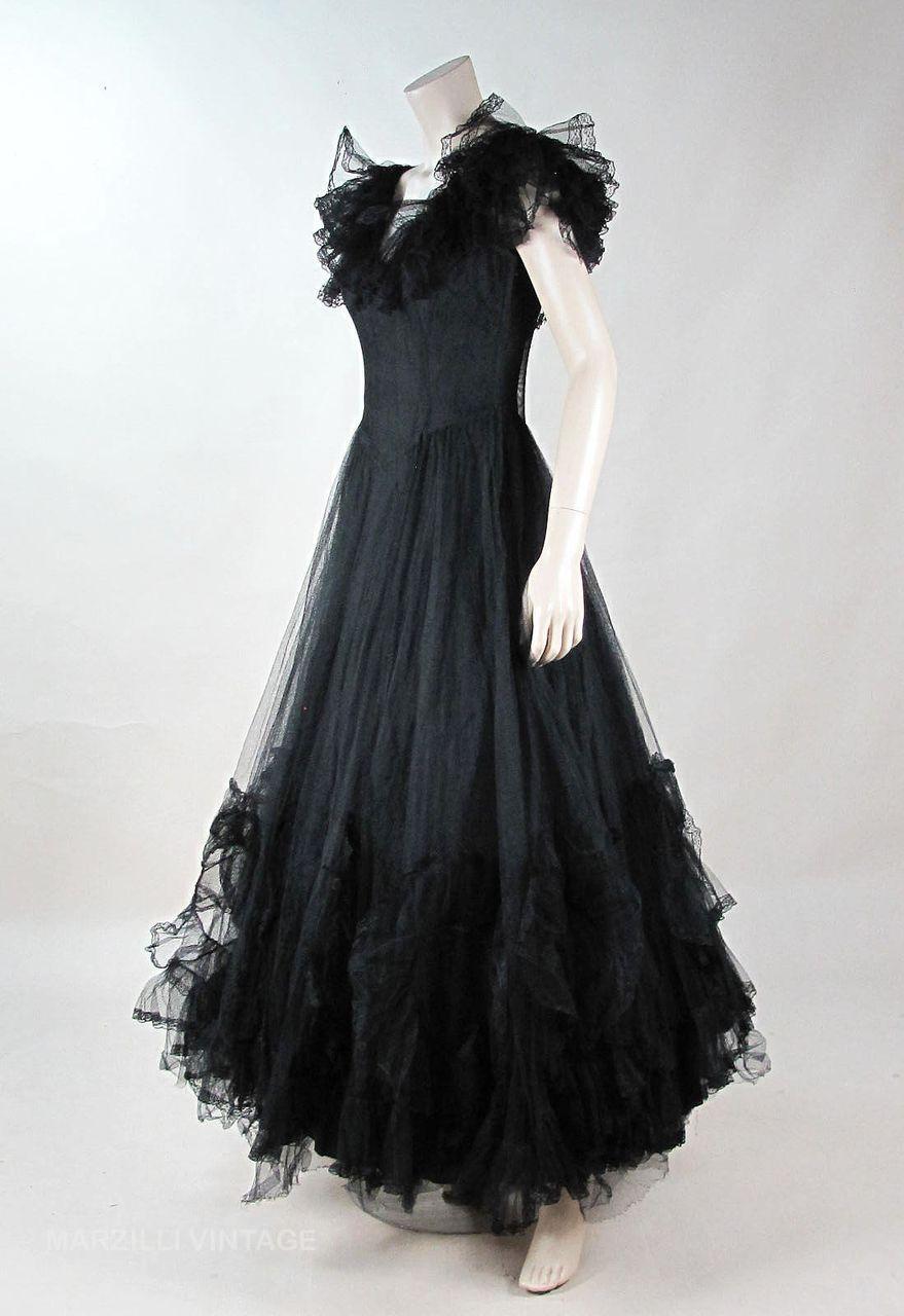Flouncy ny dress institute tulle u lace dress fashion