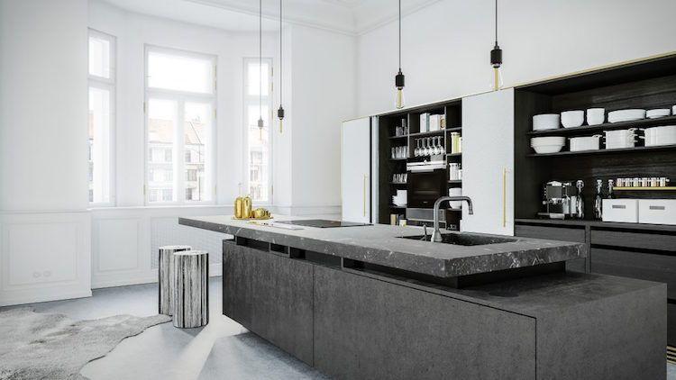 zoom sur les points forts de la cuisine moderne avec lot en 24 images