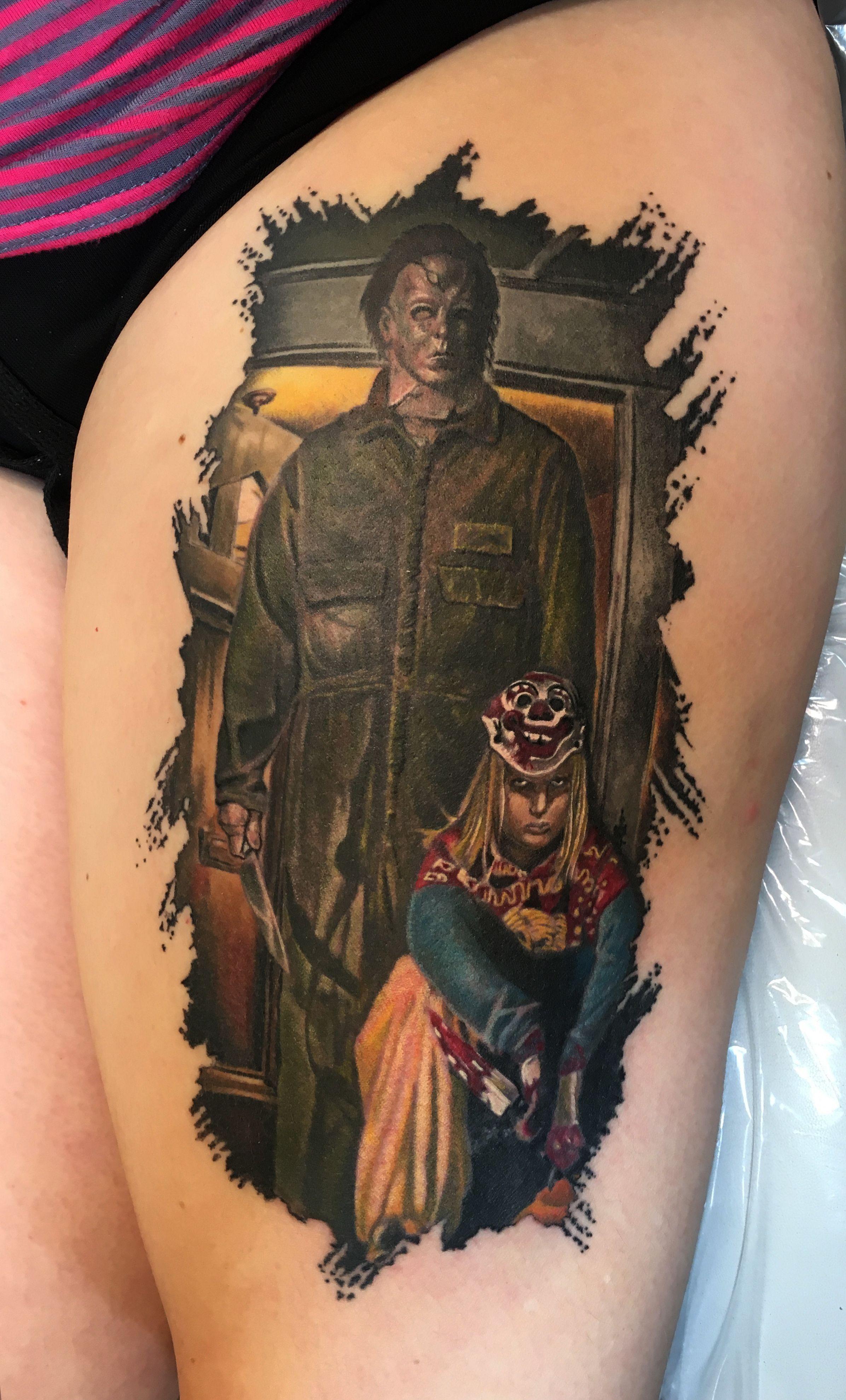 Halloween 2020 Michael Myers Won'T Be Immortal Immortal Images Steve Huntsberry Tattoos Michael Myers Halloween