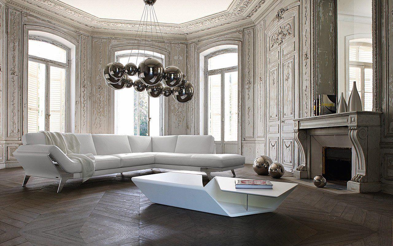 CANAPE SEANCE - Collection Roche Bobois 2011 Sacha Lakic Design ...