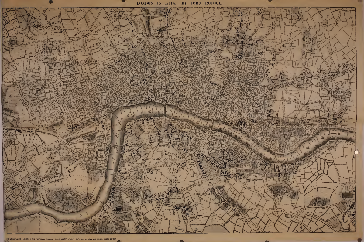 Historical Map Of London Geneaology Pinterest - London map historical