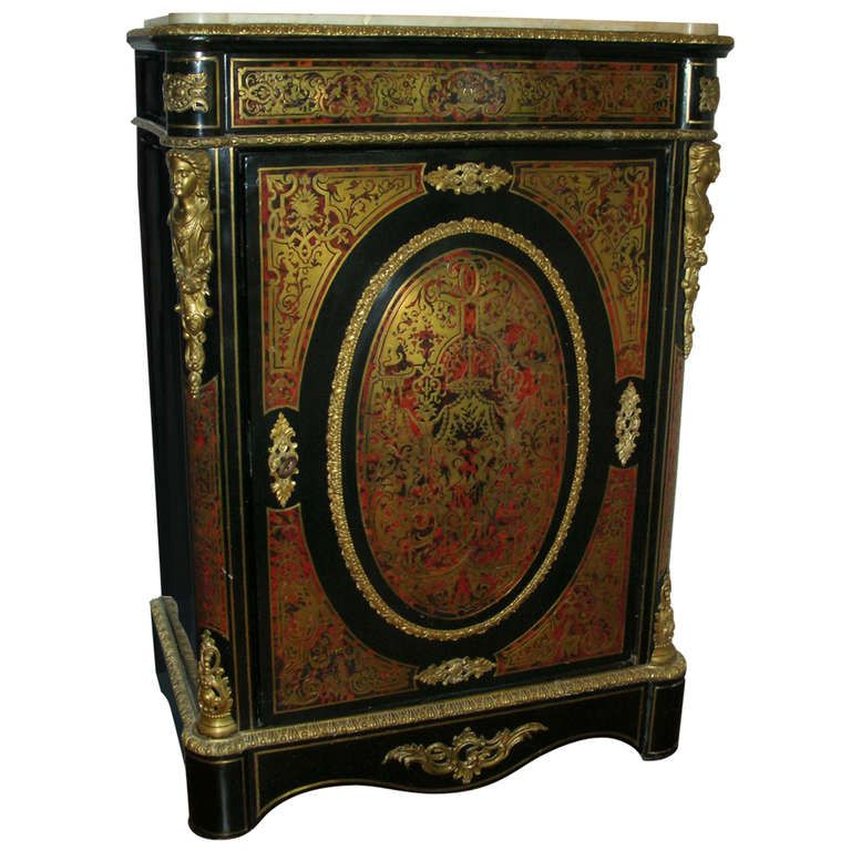 19th Century Boulle Cabinet