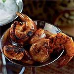 Oft requested.... yUm!  Spice-Crusted Shrimp with Remoulade Sauce Recipe | MyRecipes.com