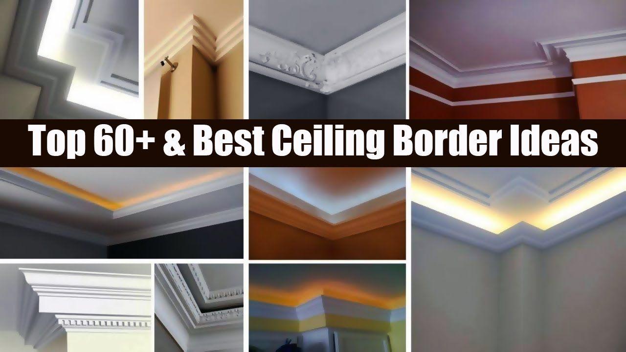House Wall Border Design Top 60 Best Ceiling Border Ideas Wall Borders Border Design House Wall Living room wallpaper borders