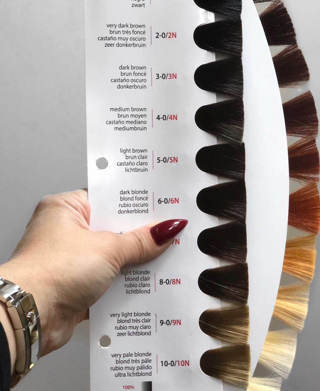 Just A Friendly Reminder Natural Level Vs Underlying Pigment Both E Hair Level Chart Brown Hair Color Chart Redken Hair Products