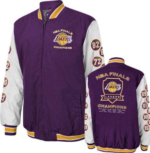 ccd90de8a78 Los Angeles Lakers Purple Hall Of Fame Commemorative Jacket | Laker ...