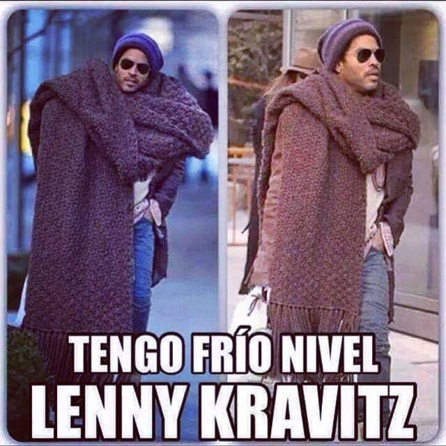 Tengo Frio Nivel Lenny Kravitz Si Te Pones La Frazada Ocupa
