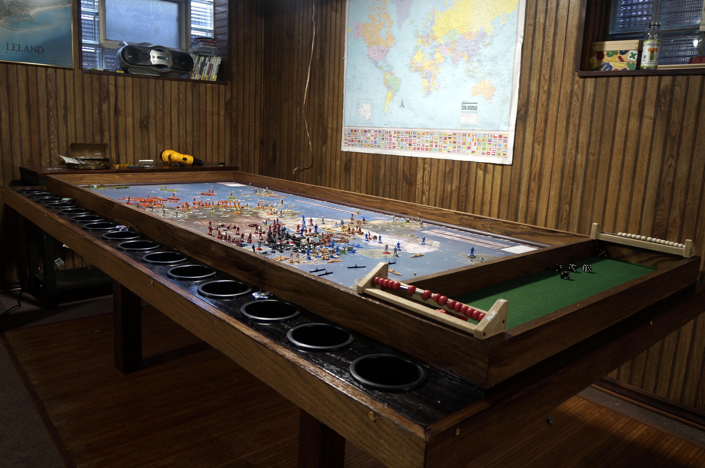 Custom Axis & Allies Table Board game table, Custom