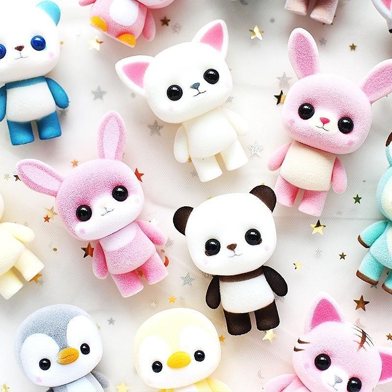 Image of: Fimo Kawaii Animals Doll Pinterest Kawaii Animals Doll Kawaii Shop Pinterest Dolls Kawaii And