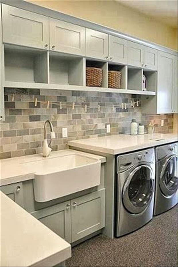 Meanwhile In My Pinterest Laundry Room 23 Pics Arredamento Lavanderia Lavanderie Rustiche Lavanderie Moderne