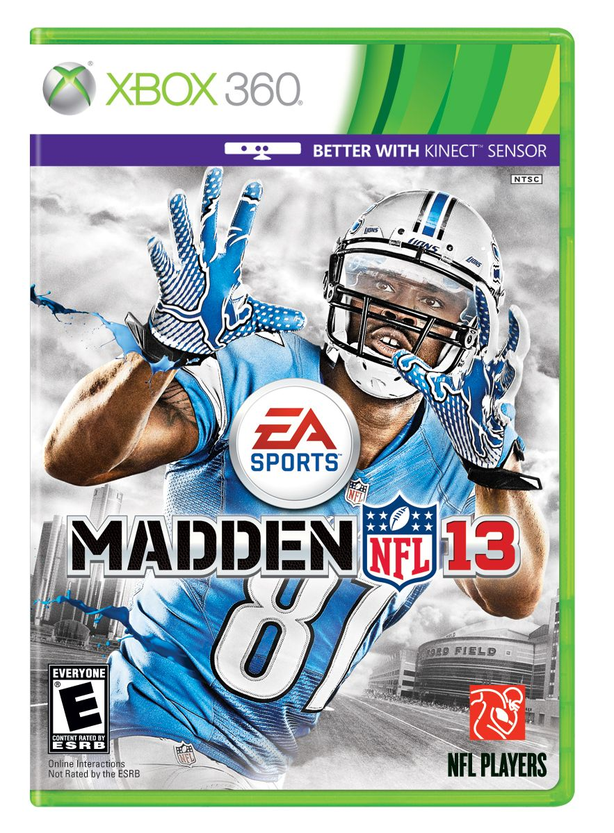 XBox 360 Cover Madden nfl, Football video games, Nfl games