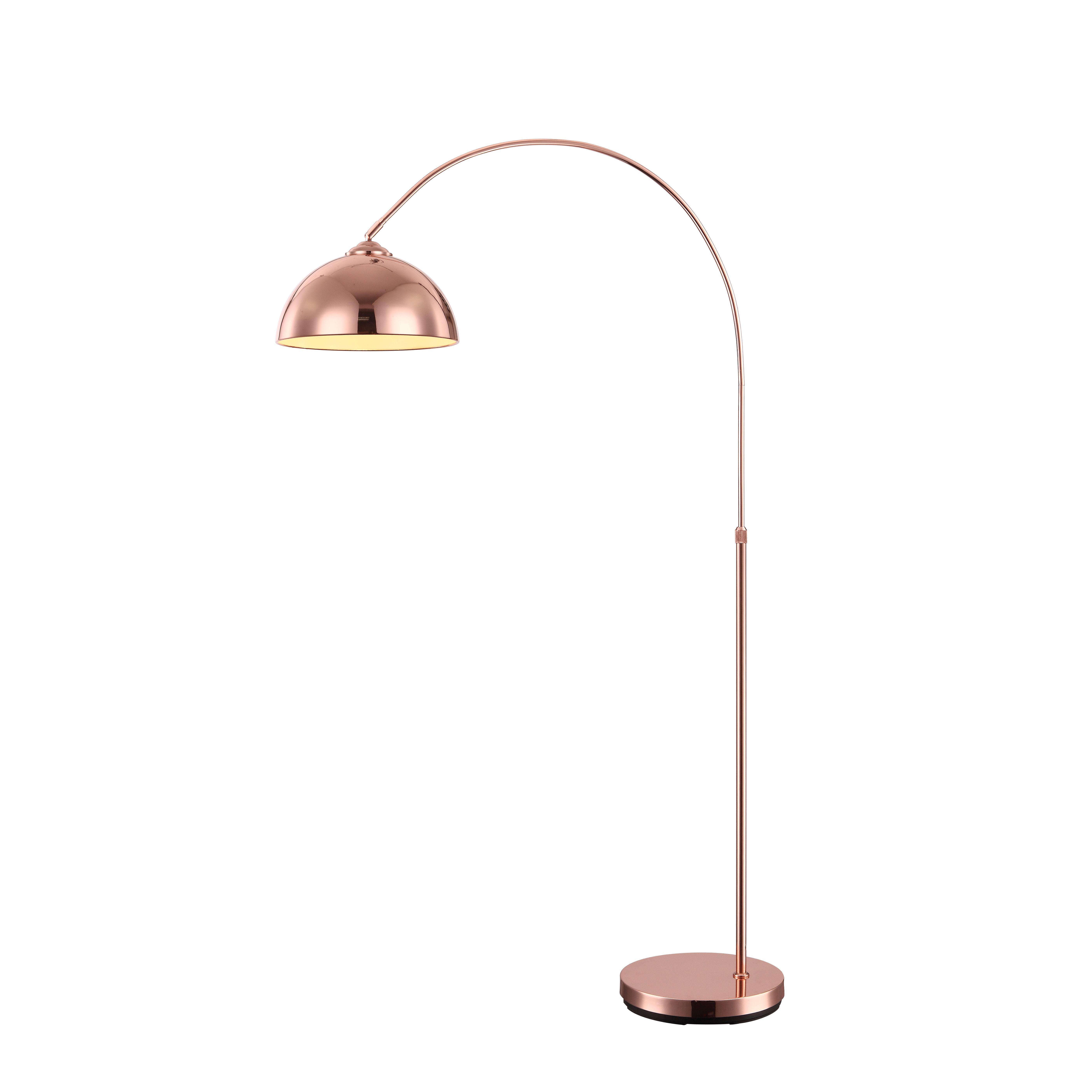 bronze lamp boom pin plus arched euro finish lamps floor arch style possini