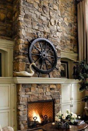beautiful stone fireplaces. Beautiful Stone Fireplace  Fireplaces Pinterest Stone