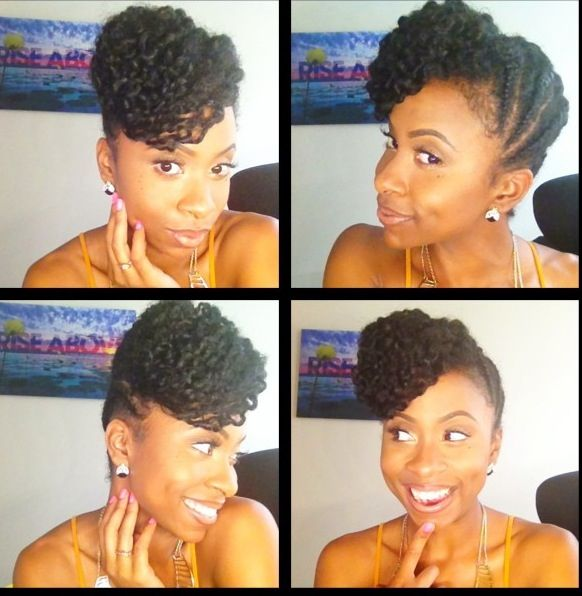 Kinkycurlyrelaxedextensions Board Hair Pinterest Updo