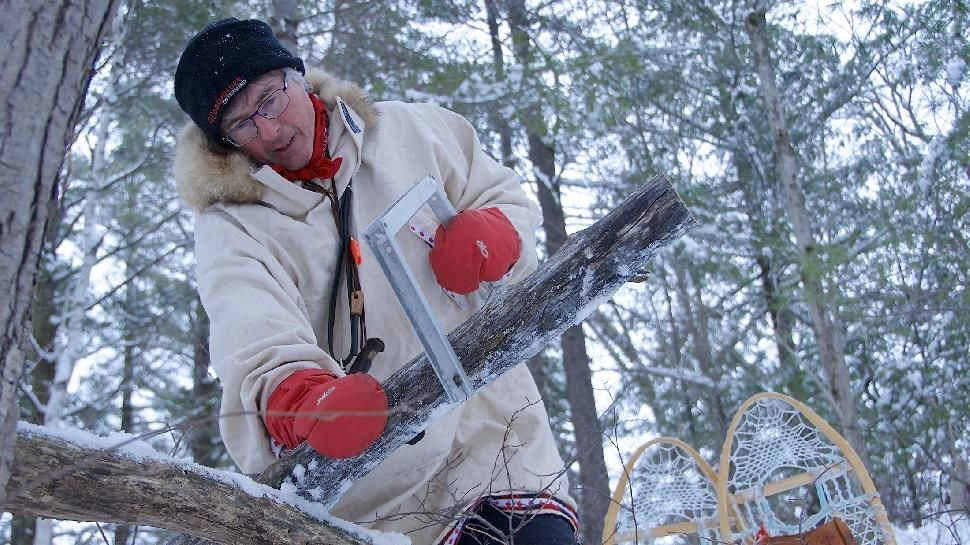 The Happy Camper Winter Camping on Crown Land in Ontario